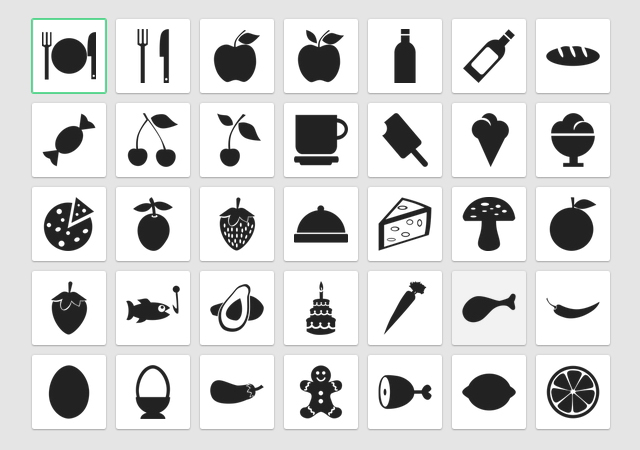 Iconica: Free Collection of Black & White Flat Icons