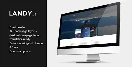 10.wordpress landing page theme