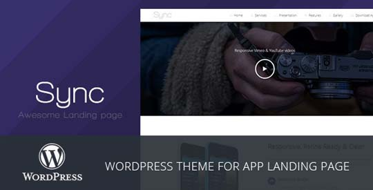11.wordpress landing page theme