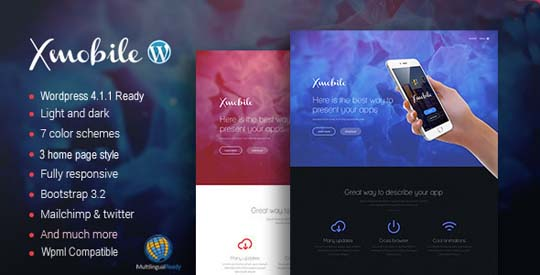 3.wordpress landing page theme