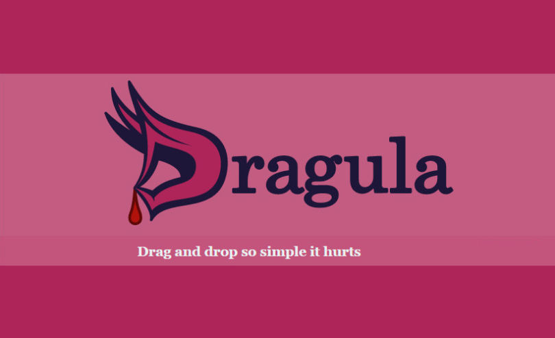 Dragula: Easy JavaScript Container Drag & Drop Plugin