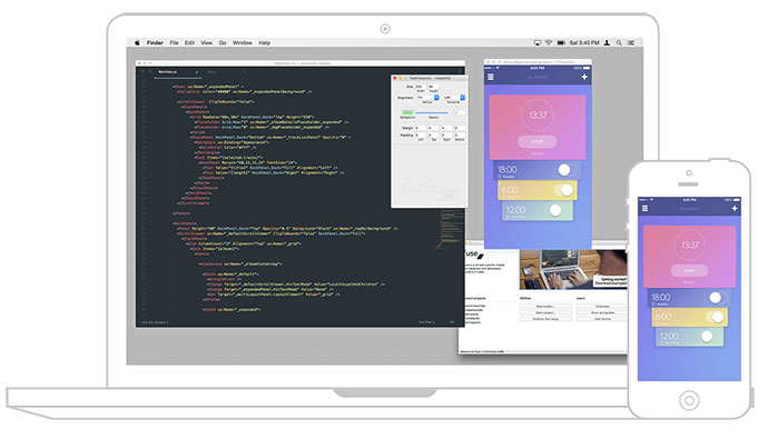 Fuse is for mobile app developer and designer
