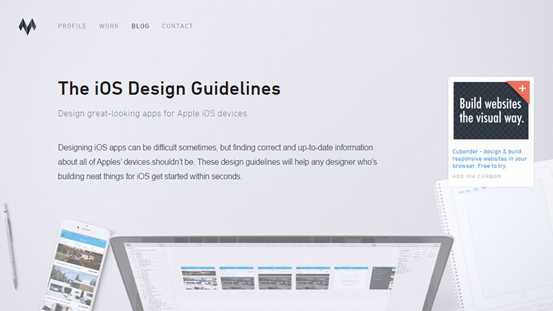 The iOS Design Guidelines