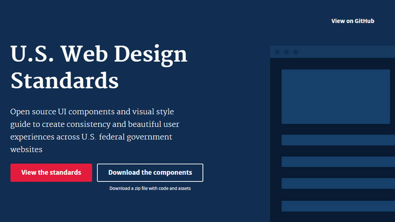US Web Design Standards