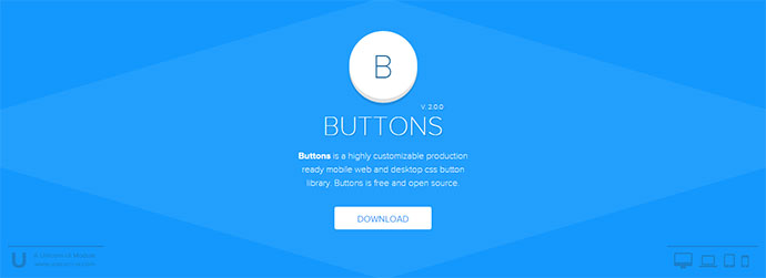 button CSS library