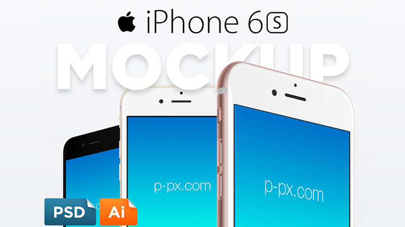 iPhone 6S Free Vector PSD