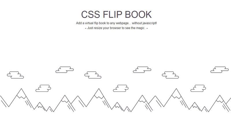 CSS Flip Book