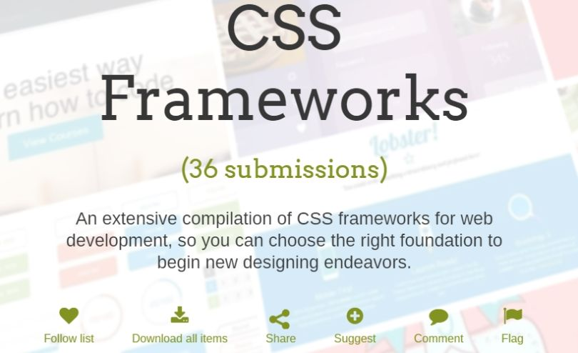 A Curated List of the Best CSS Frameworks