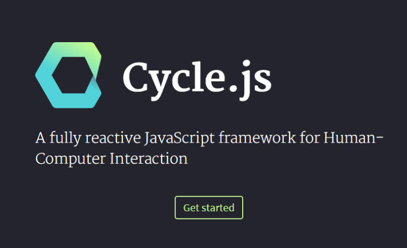 Cycle.js: JavaScript Human-Computer Interaction Framework