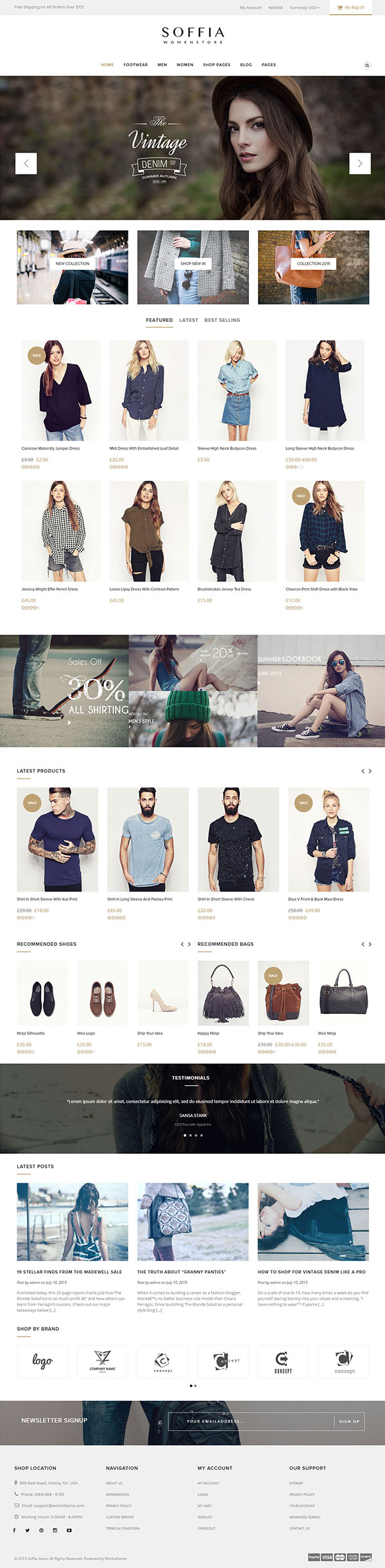 Soffia - The WordPress and WooCommerce Theme