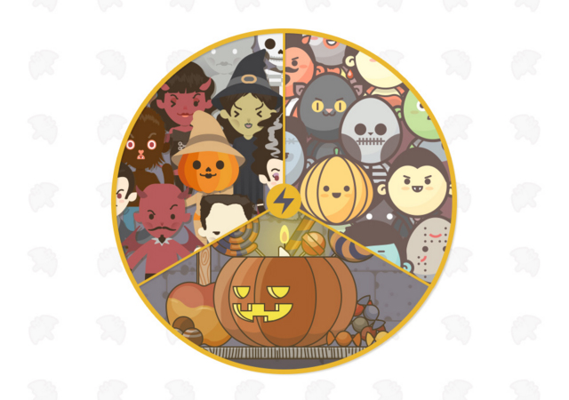 Halloween Vector Kit: Icons, Avatars, Characters & Scenarios