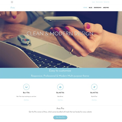 45 Clean and Minimal WordPress Themes