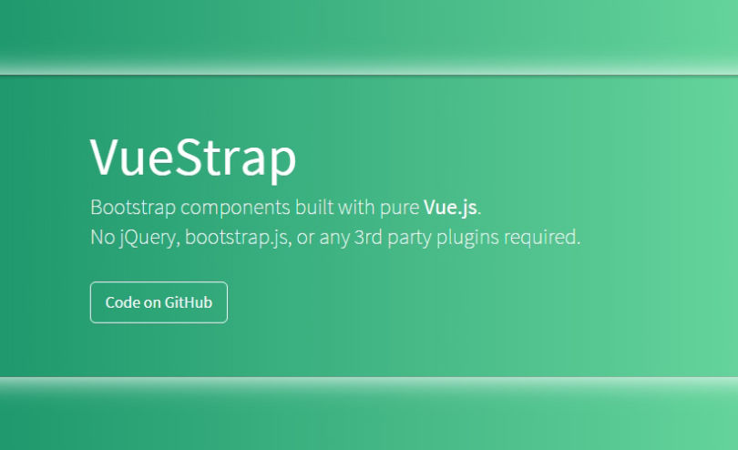 VueStrap: JavaScript Components for Bootstrap