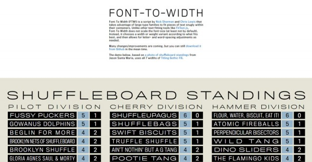 FONT-TO-WIDTH