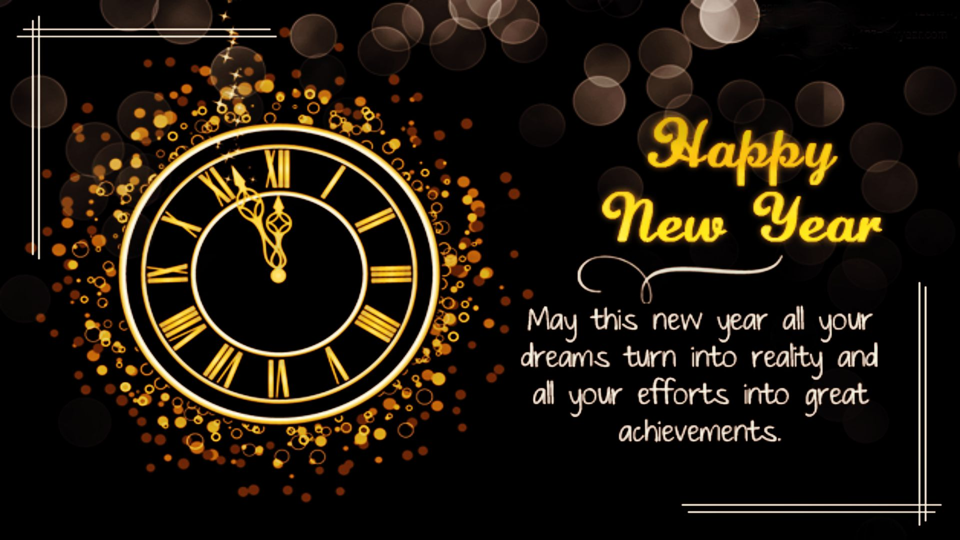 beautiful happy new year wallpapers hd 4