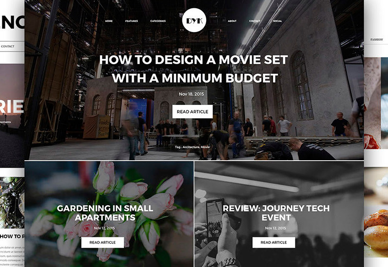 DYK: Blog UI Kit Collection