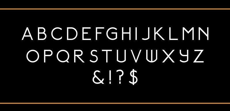 Relancer: Single Grid-crafted Typeface