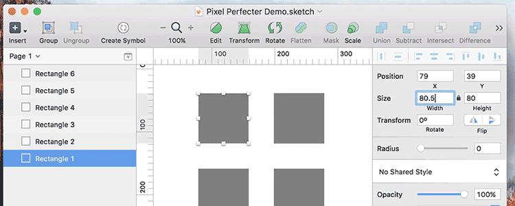 Pixel Perfecter
