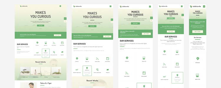 Alabanda Business Theme