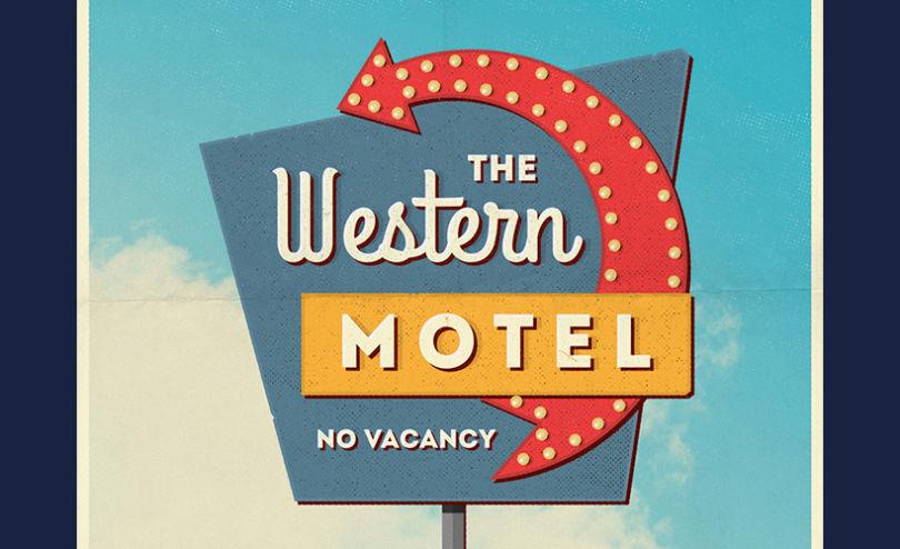 Vintage Motel Sign Mockups Set