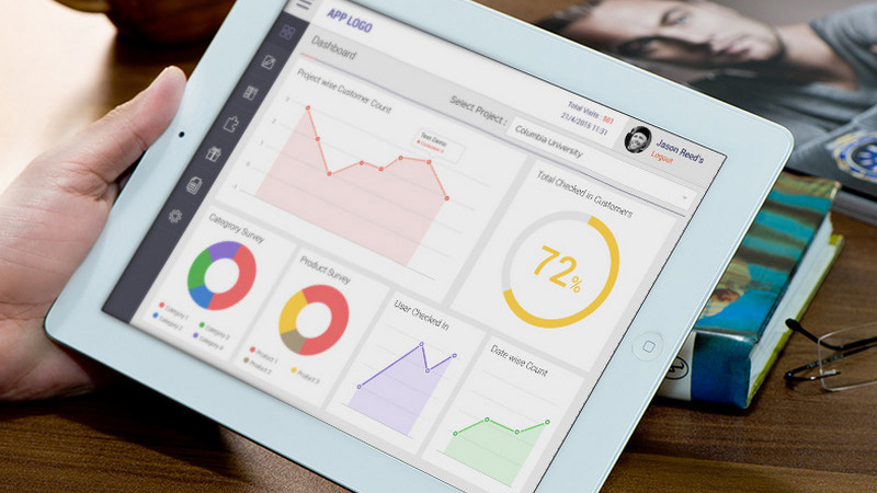 iPad Dashboard PSD