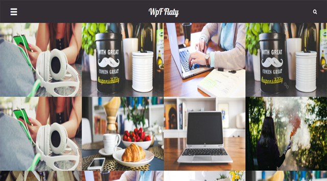 Free WordPress Themes: WpF Flaty