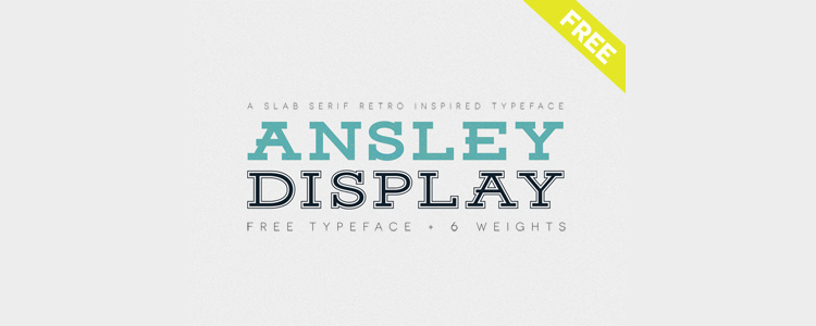 Ansley Display Typeface