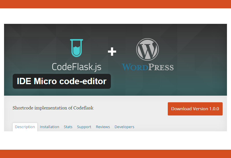 IDE Micro Code-editor WordPress Plugin