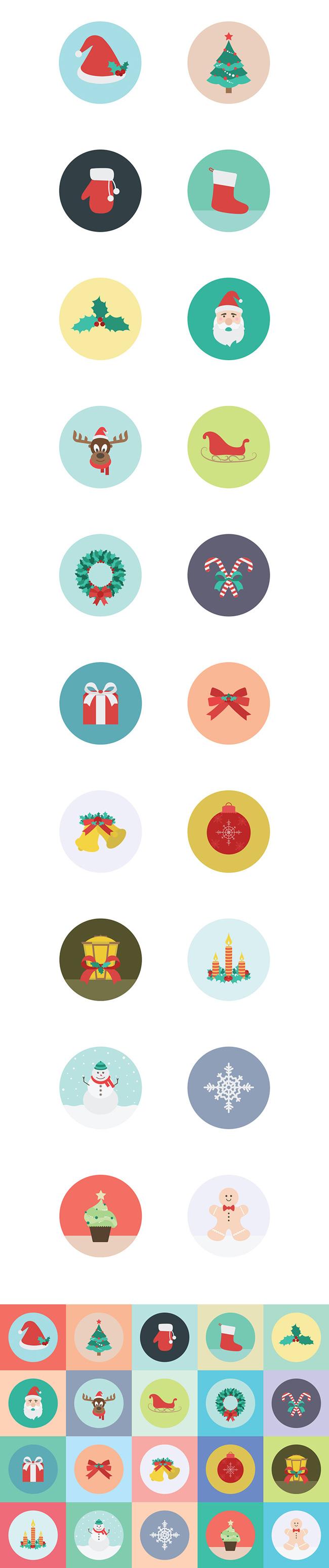 2.Free Christmas Icons