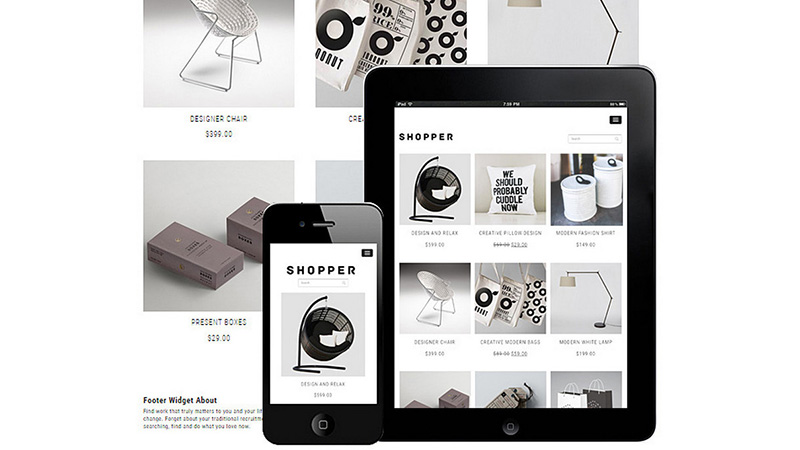 Shopper Responsive WooCommerce Theme
