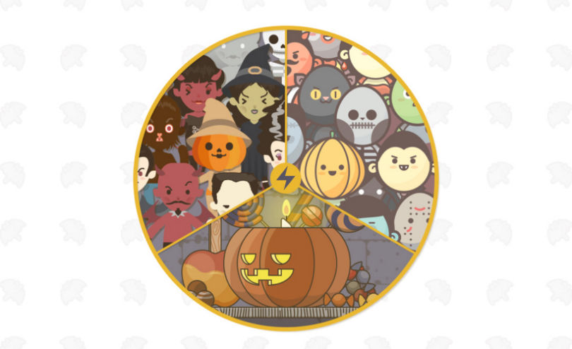A Halloween Vector Super Pack: Icons, Avatars and Customizable Characters & Scenarios