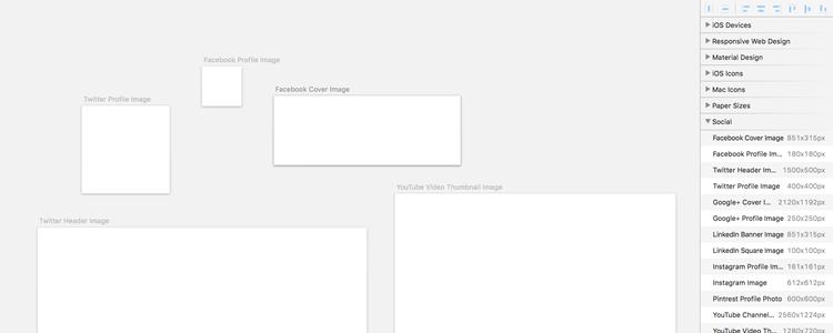Social Artboards sketch app