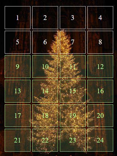 Advent Calendar Screenshot