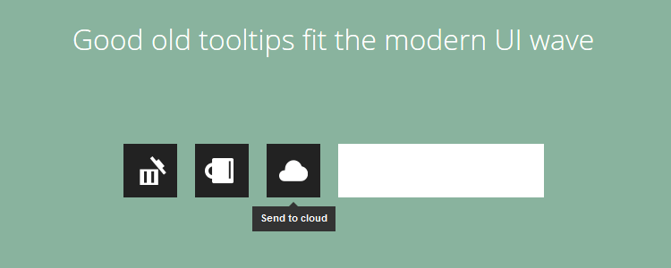 html5tooltips.js tooltip library CSS3 animation