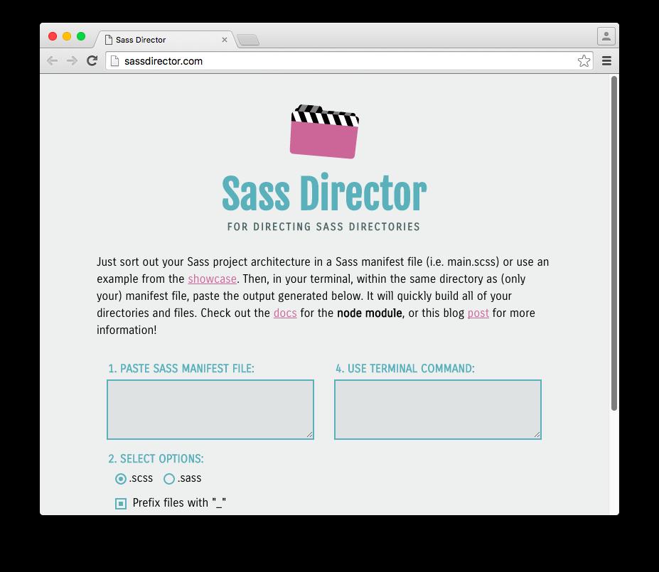 Sass Director