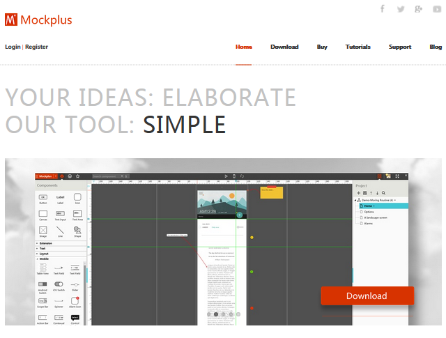 Mockplus review: best mockup tool for 2016?