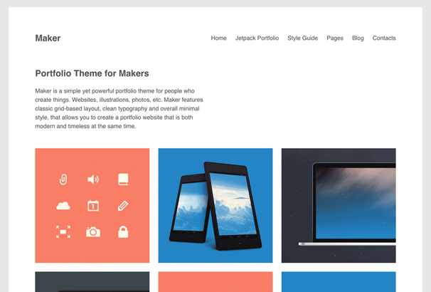 25 Completely Free Clean, Minimal & Whitespace WordPress Themes for ...