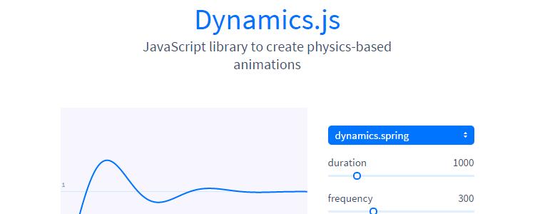 Dynamics.js