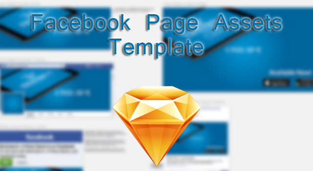 Facebook Page Assets Sketch Template