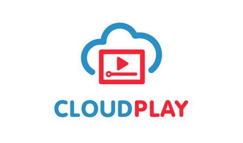 CloudPlay - Cloud Logo Template