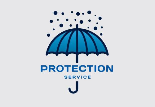 Protection Logo Design