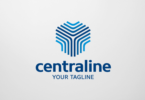 Central Line Logo Template