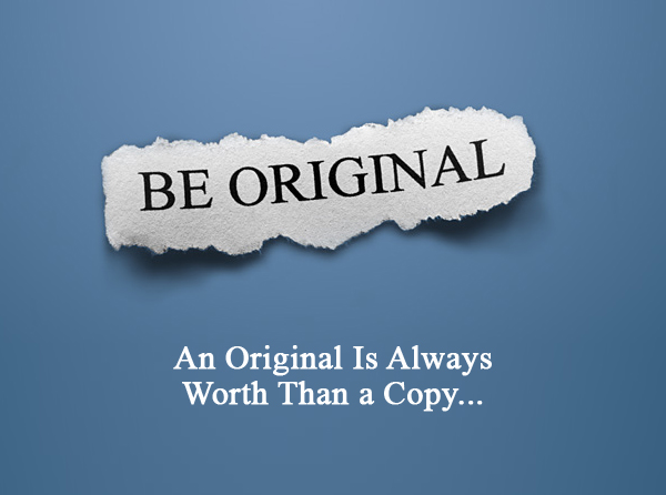 Be Creative Be Original