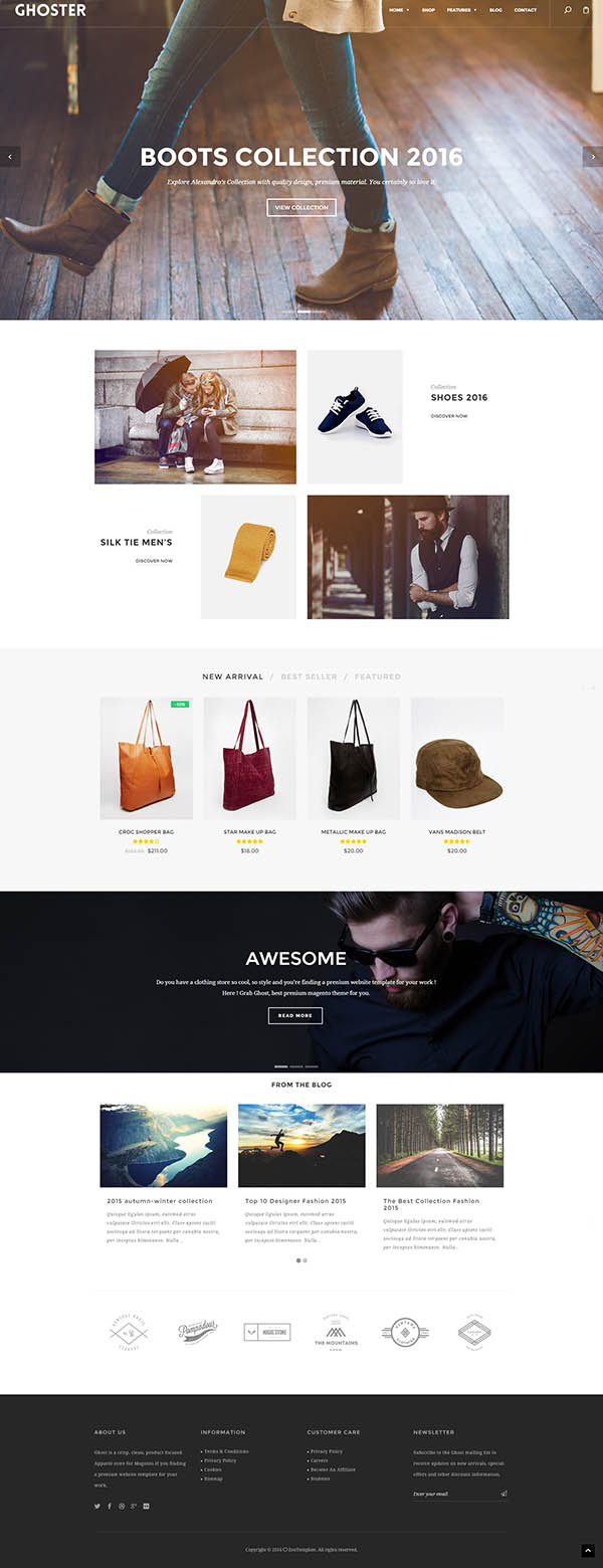 Ri Ghoster – Multipurpose Creative WordPress Theme