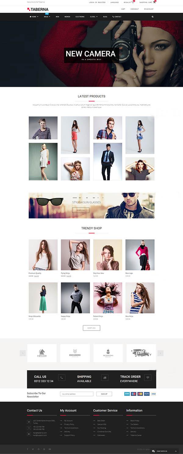 Taberna – Multipurpose WooCommerce WordPress Theme
