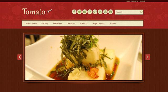 Tomatoo: Restaurant WordPress Theme