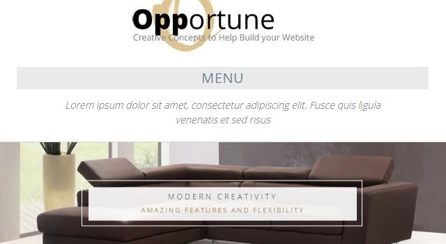 Opportune: Clean &responsive Multipurpose WordPress Theme
