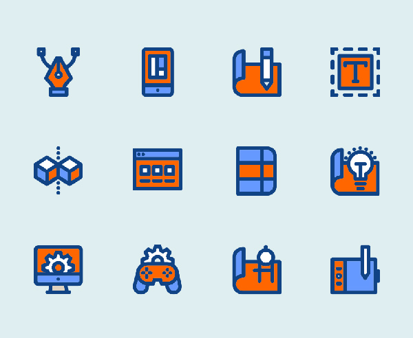 Free SVG Design Icons (12 Icons)