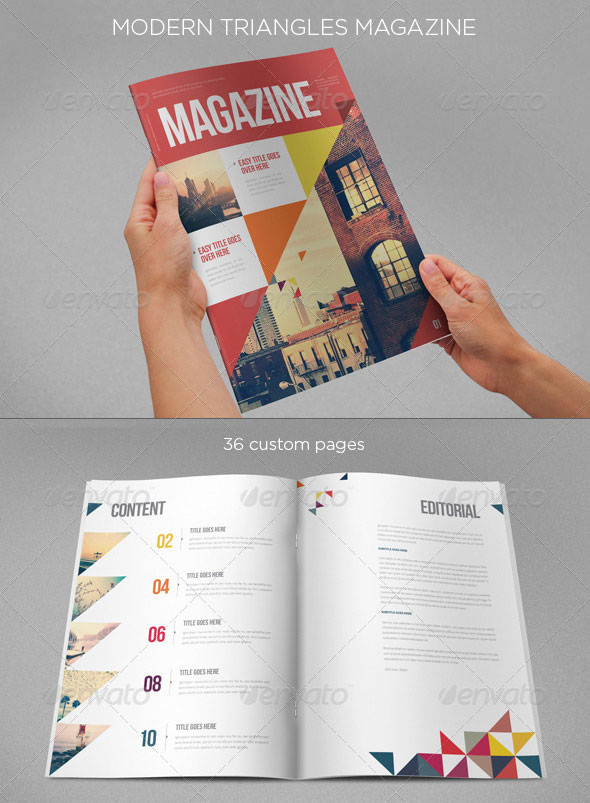 Modern Triangles Magazine