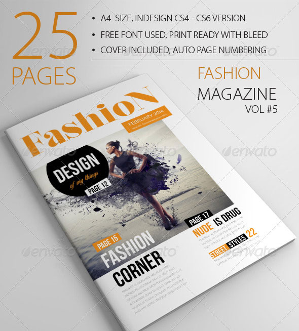 25 Pages Fashion Magazine Vol5